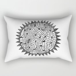 Sun or Star Rectangular Pillow