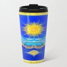 Sacred Sun Metal Travel Mug
