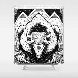 Spirits of the West Shower Curtain