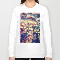 comics Long Sleeve T-shirts featuring Comics by Miss-Lys