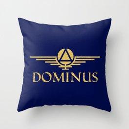 Call Me Dominus Throw Pillow