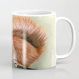 Red Squirrel In Autumn Coffee Mug