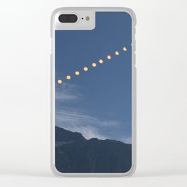 2017 Total Solar Eclipse Clear iPhone Case