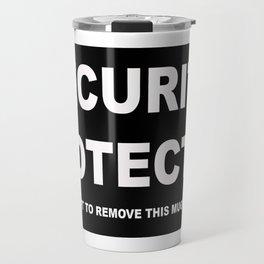 Security Protected Mug Travel Mug