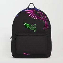 Glowing Birds Backpack