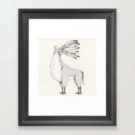 spirit forest Framed Art Print