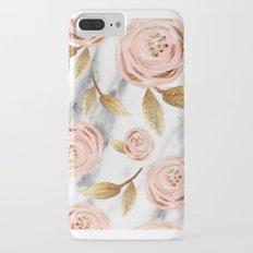 Blushing blooms iPhone 7 Plus Slim Case