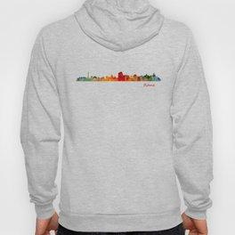 Rome city skyline HQ v01 Hoody