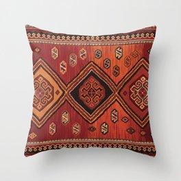 Persian Carpet Design Throw Pillow