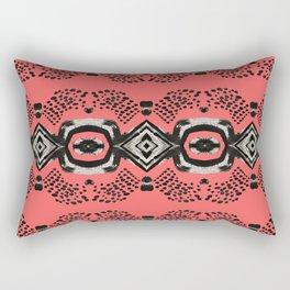Inky Eyes - Watermelon Rectangular Pillow