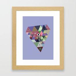 Sad ICE Framed Art Print