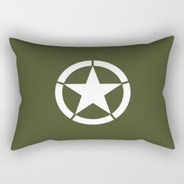 US Army Star Rectangular Pillow