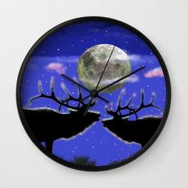 Kindred spirits Wall Clock