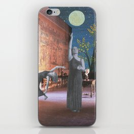 The Glorious Night Descends (II) iPhone Skin