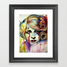 Ms. Darby (VIDEO IN DESCRIPTION!!) Framed Art Print