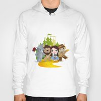 oz Hoodies featuring Oz by 7pk2 online