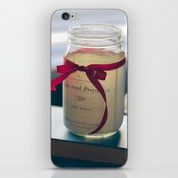 pride and prejudice iPhone & iPod Skins featuring Pride & Prejudice Mason Jar by {she tells stories}