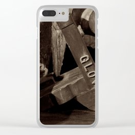 Glover Clear iPhone Case
