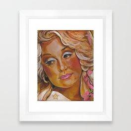 Dolly Parton Framed Art Print