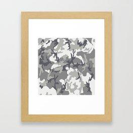 Urban camouflage Framed Art Print