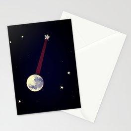 Moon Banjo Stationery Cards