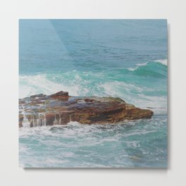 Dripping Shoal Metal Print