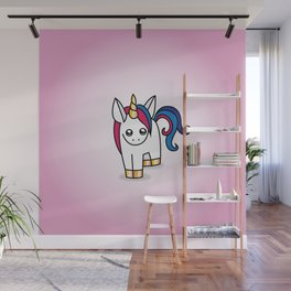 Nova the Unicorn Wall Mural