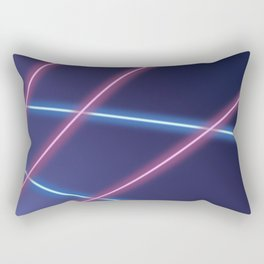 Laser Class Photo Backdrop Rectangular Pillow