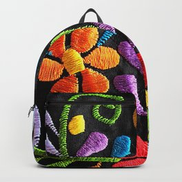 Mexican Flowers Backpack