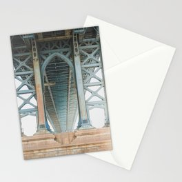 Under the Manhattan Bridge Stationery Cards