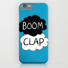 Boom Clap (the sound of my heart - TFIOS) iPhone Case