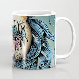 Warrior Skull Coffee Mug