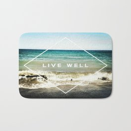 Live Well Bath Mat