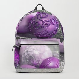Fancy pink christmas Backpack