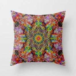 Mandala Budis Gringo Throw Pillow