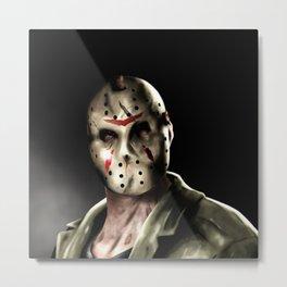Jason Friday the 13th Metal Print