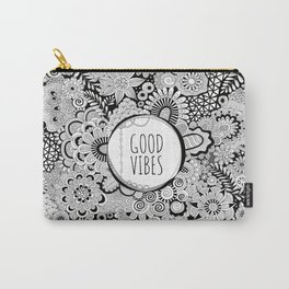 Good Vibes Doodle Carry-All Pouch