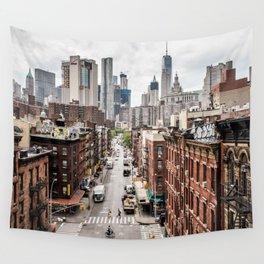 New York City Skyline (Brooklyn, Queens, Manhattan) Wall Tapestry
