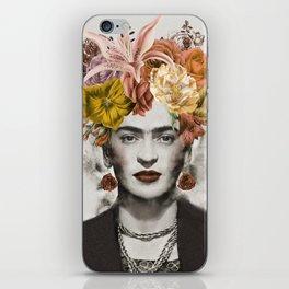 FRIDA FLOWERS iPhone Skin