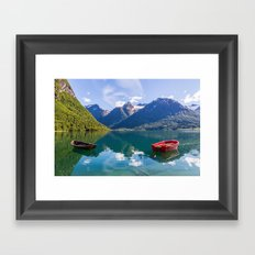 Hjella Beauty Framed Art Print