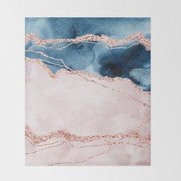 storm whipped sea I Throw Blanket