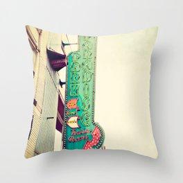 Paradise Park Throw Pillow
