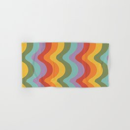 Rainbow Stripes 2 Hand & Bath Towel
