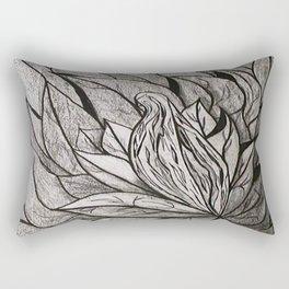 ATRAPADA Y SOLA Rectangular Pillow