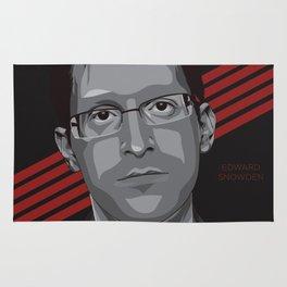Edward Snowden Rug