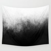 grunge Wall Tapestries featuring Abstract IV by morenina