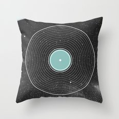 Space Disco Throw Pillow