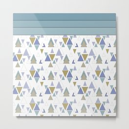 Faith , geometric Metal Print