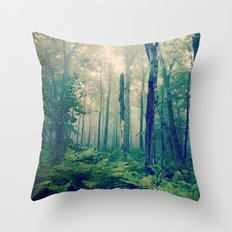 Walk to the Light Throw Pillow