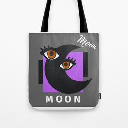 """"""" Carry On, MOON """" Tote Bag"""